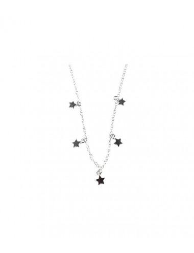 Gargantilla Estrellas 40+5cm