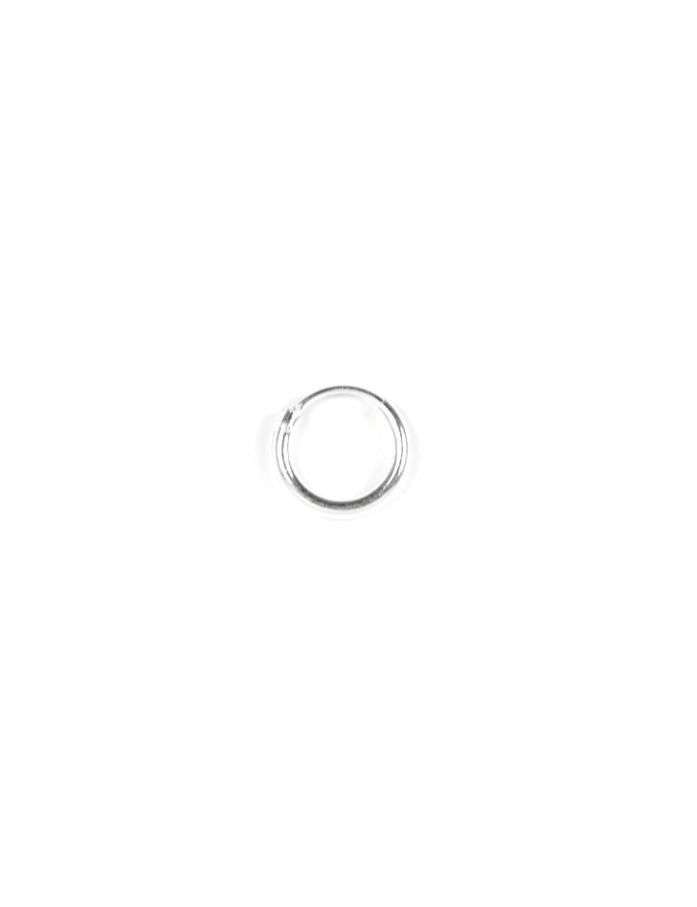 Aros Plata Liso 12 X 2mm