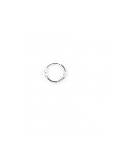 Aros Plata Liso 8 X 1.5mm