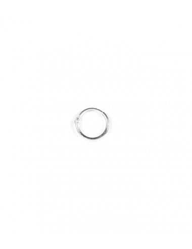 Aros Plata Liso 8 X 1.2mm